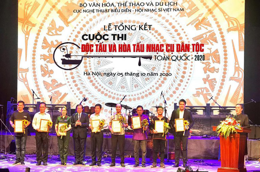 Dak Lak won the first prize in Group E for concert at the National National Musical Instrument Concert and Concert in 2020