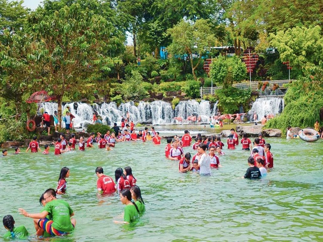 Recorded the number of tourists coming to Dong Nai during New Year's Day 2021