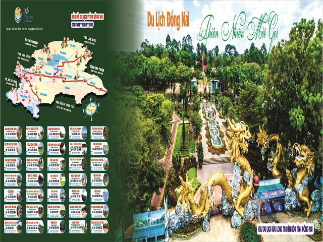 Install and advertise tourism image panels at bus stations in Dong Nai
