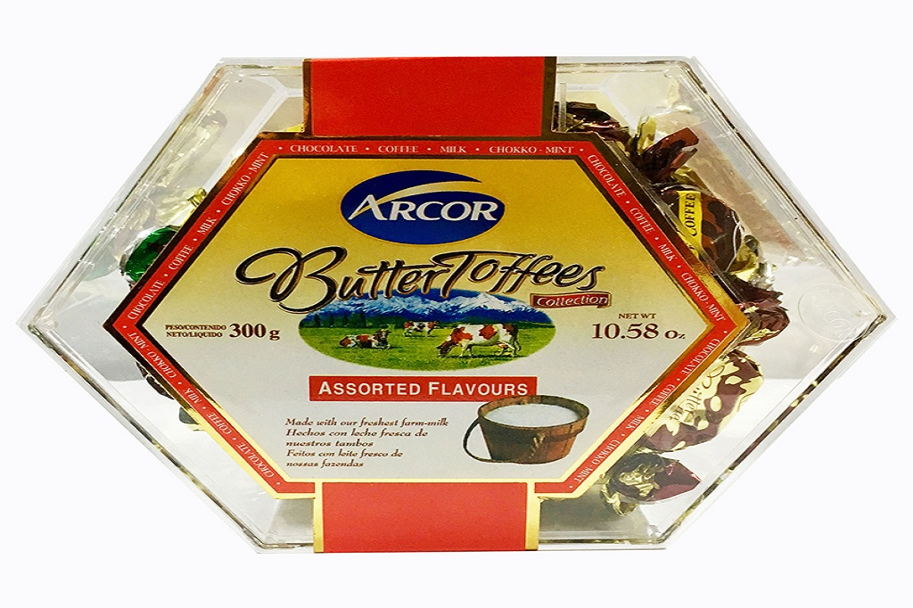 Hộp Kẹo Butter toffees hiệu Arcor