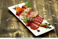 Cold-cut plate