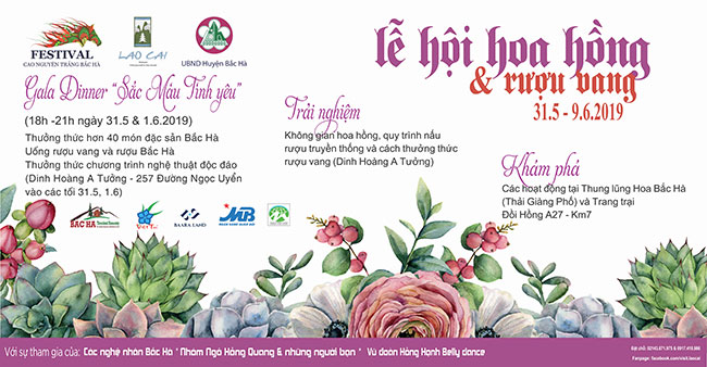 Rose Festival - Wine at Hoang A Tuong Palace
