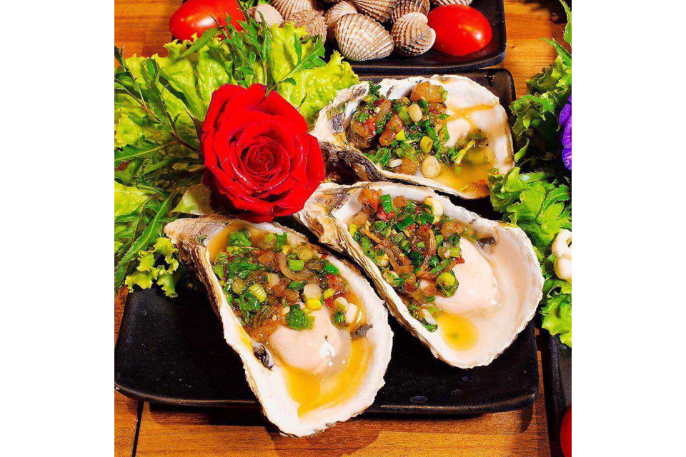 Grilled Oyster Oysters