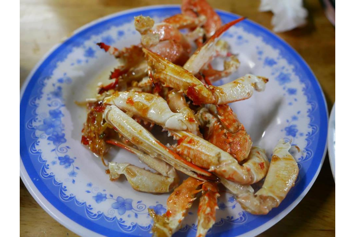 Garlic Crab With Garlic