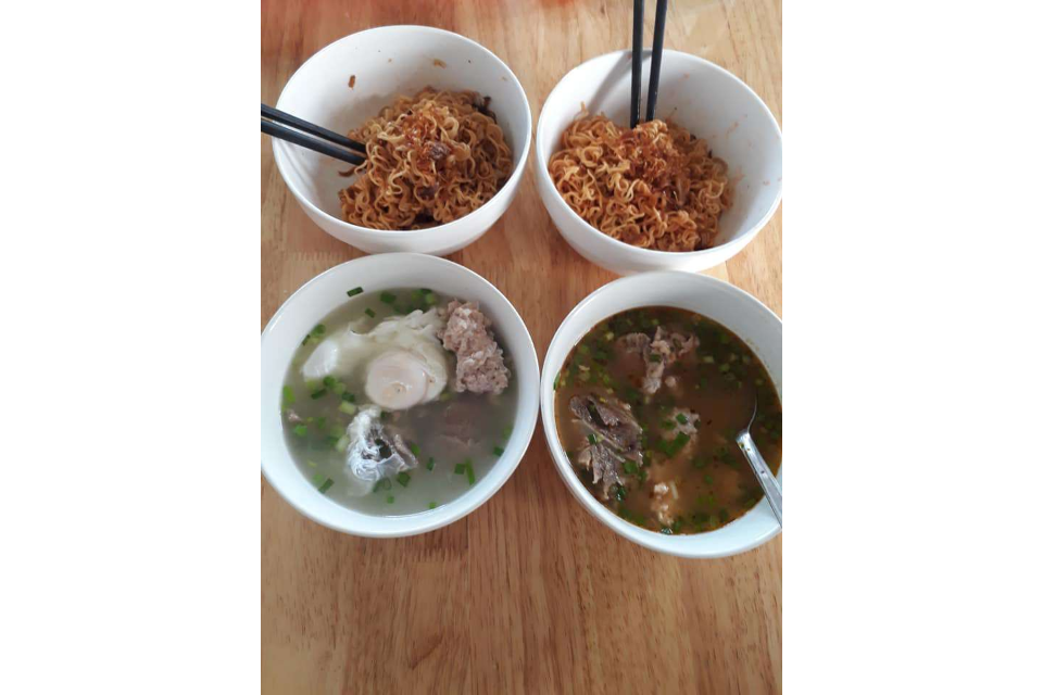 Noodle, Rib Soup, Shrimp Soup
