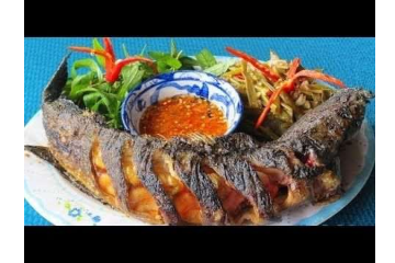 Fried Fried Snakehead Fish