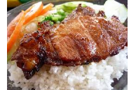 Barbecue Plate Rice