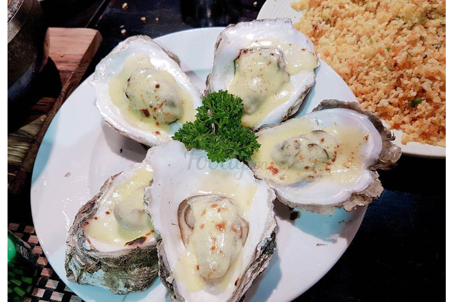 Cheese Oysters