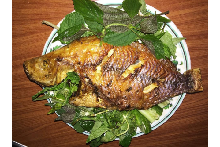 Red Roasted Fish