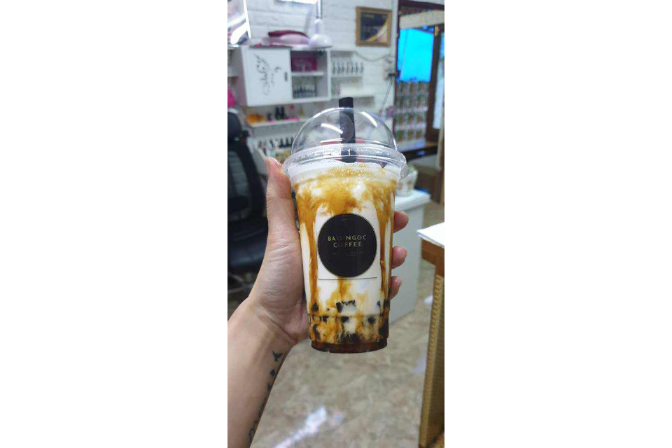 Milk tea Black Road