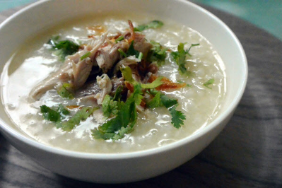 Duck Meat Porridge