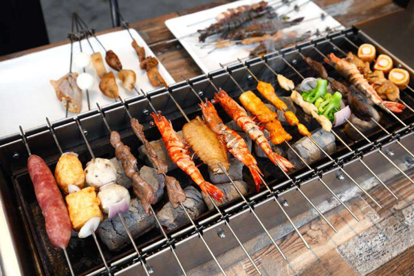 Types of Skewers Grill