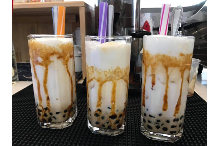 Black Sugar Pearl Milk Tea