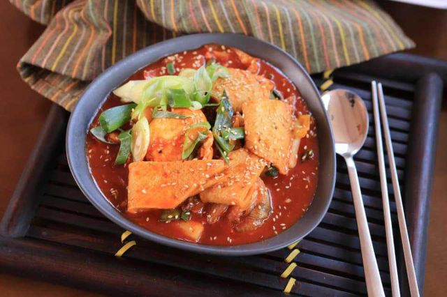 Korean Spicy Rice Cake