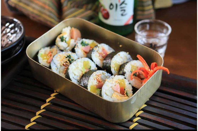 Kimbap Roll Rice