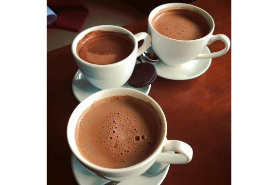 CaCao Hot Milk