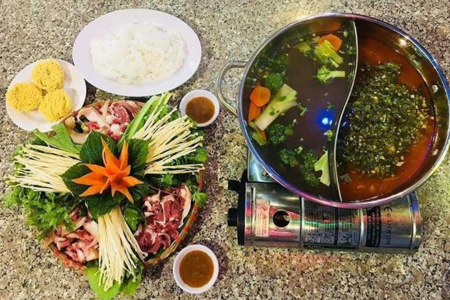 Beef hotpot 2 compartments