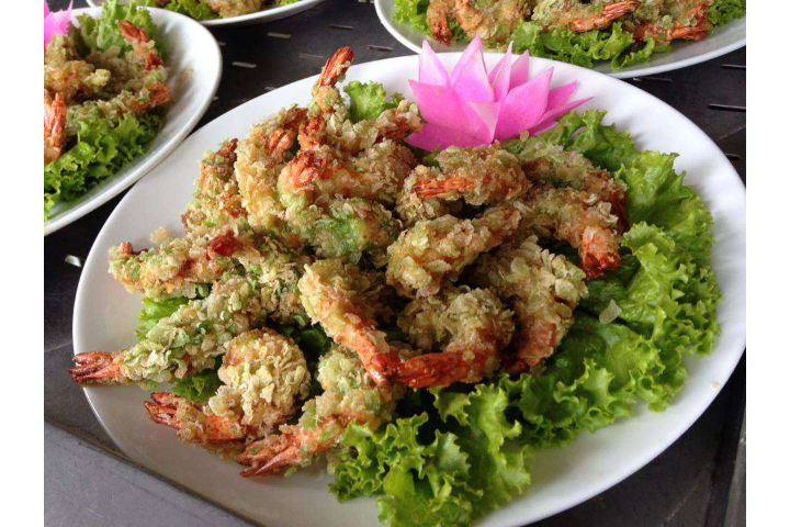 Prawn Roll Fried Fried Rice