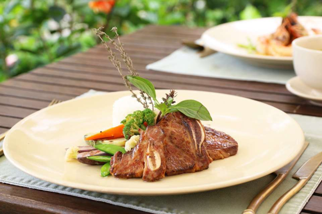 Grilled Baby Rib