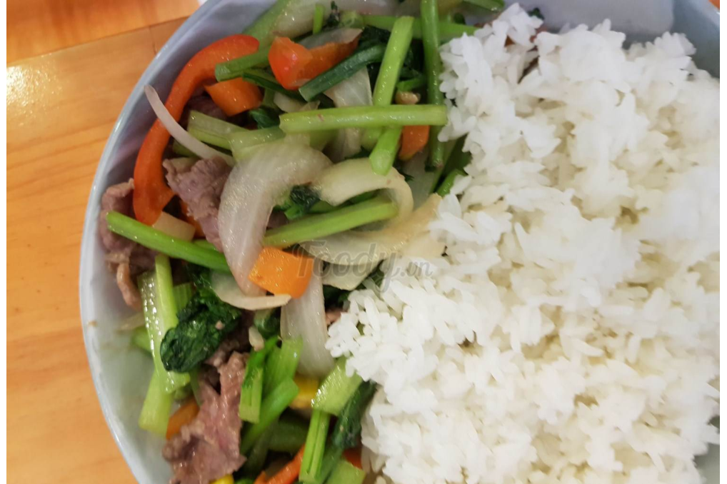 Stir-fried Beef With Vegetables