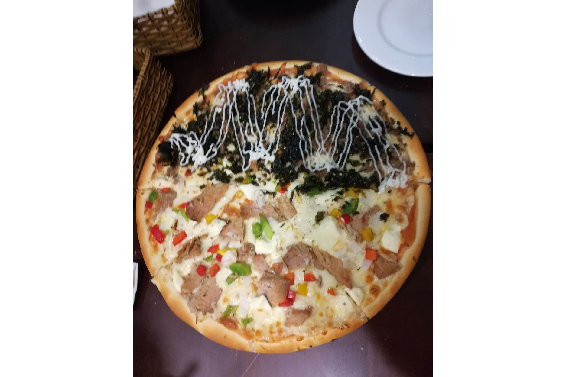 Oysters Pizza