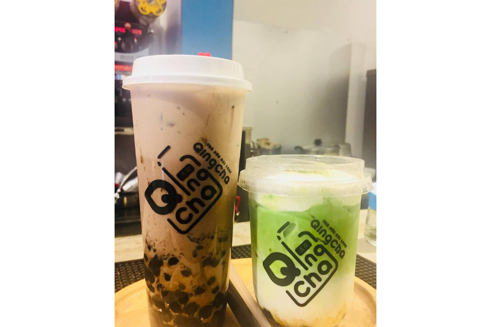 Pearl Milk Tea Black Sugar And Matcha Milk Tea