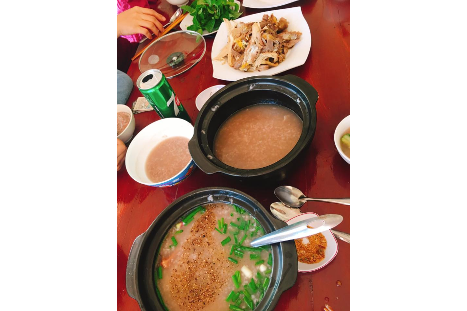 Red Bean Porridge And Chicken