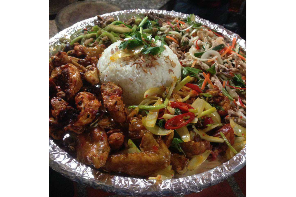 Chicken with 5 Dishes