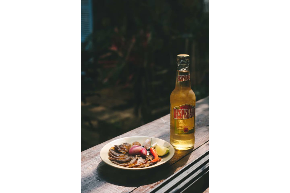 Desperados Beer And Smoked Beef