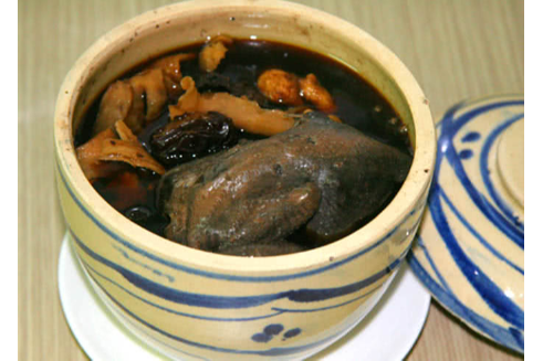 Whole Chicken Chinese tradictional medicine