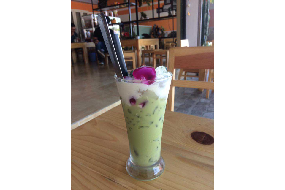 Matcha Ice Milk