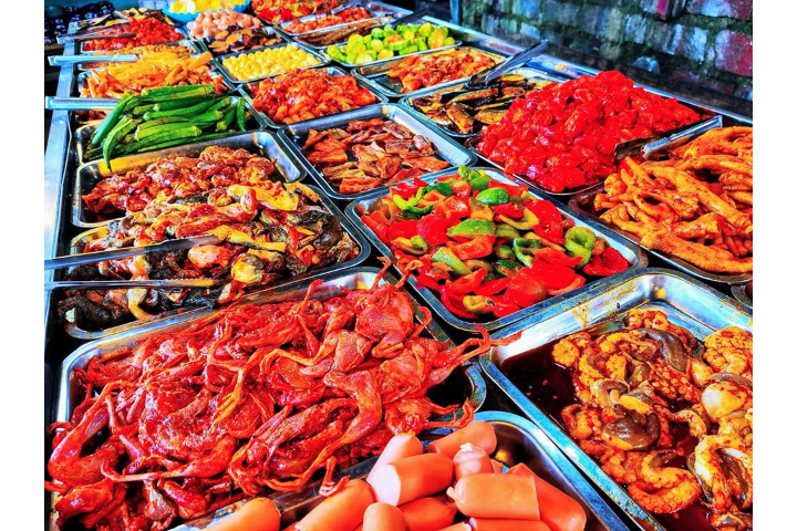 Seafood And Meat