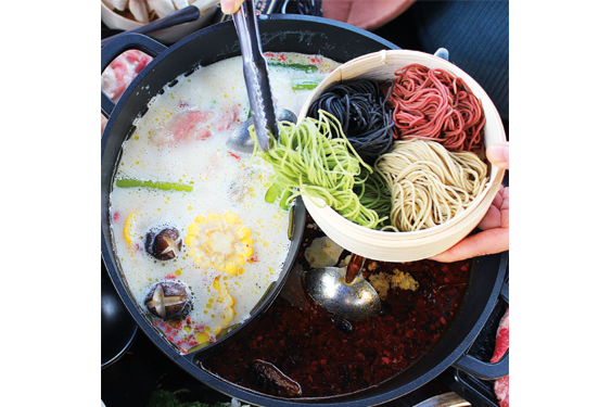 2 Compartment Hotpot