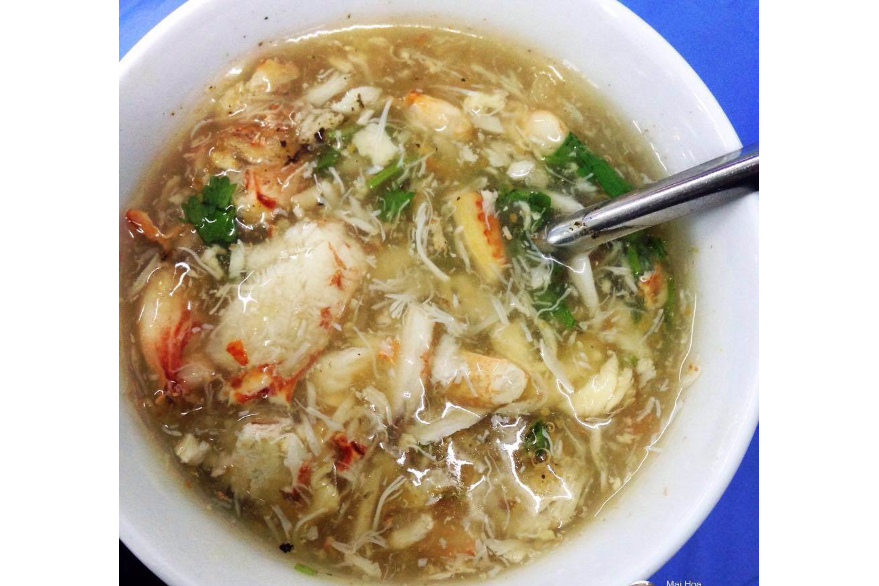 Soup with Crab