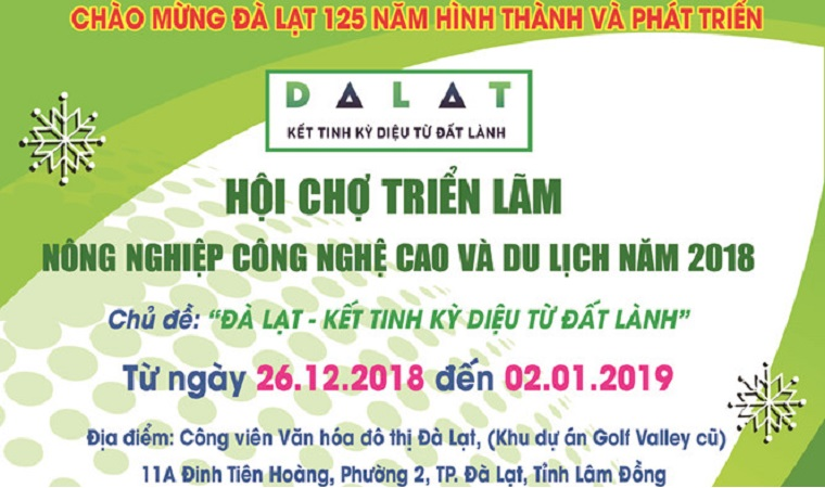 High Tech Agriculture and Tourism Fair in 2018
