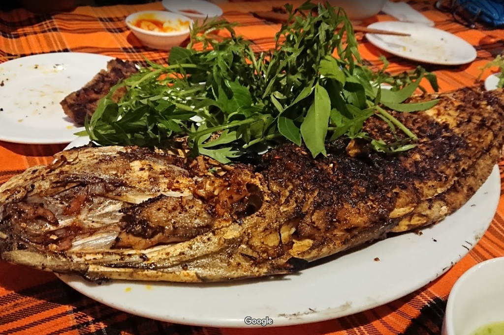 Grilled fish with five flavors
