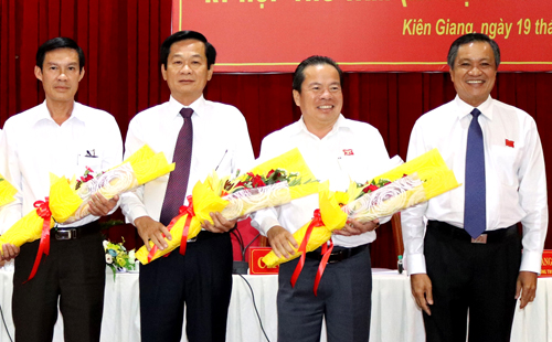 Vice chairman of Kien Giang province as Phu Quoc district secretary