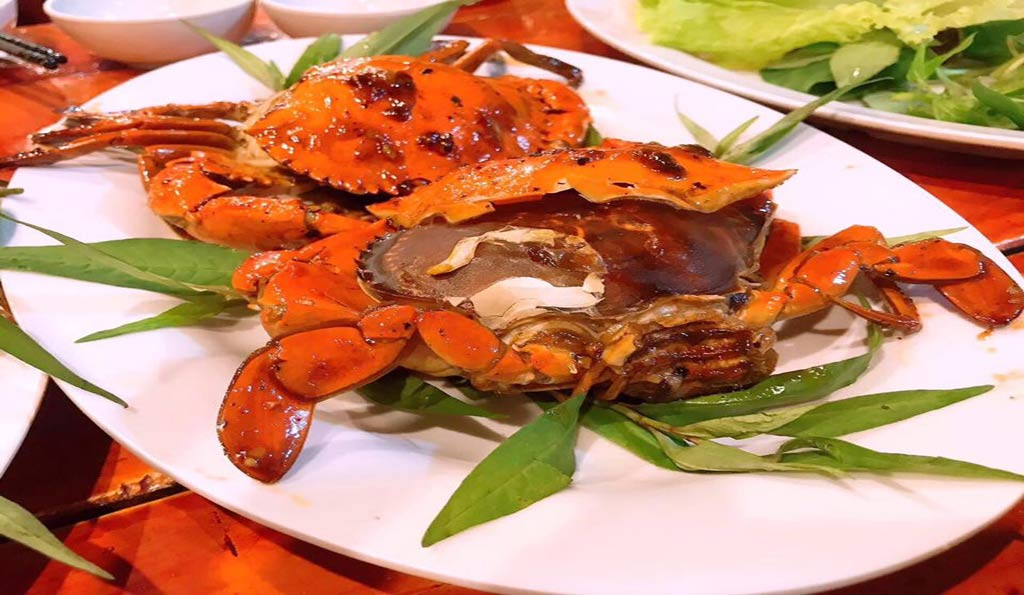 Roasted Crab With tamarind